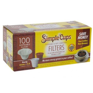 Disposable Coffee K-cup filters 100-pack