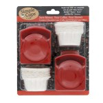 Simple Cups Nescafe Reusable Cups filters and lids